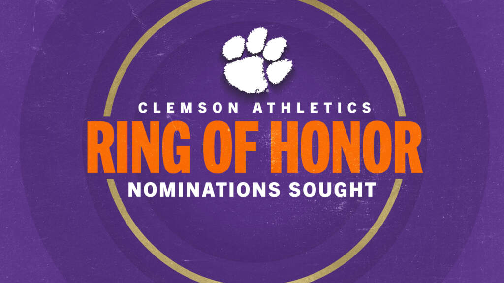 Clemson Ring of Honor Nominations Sought