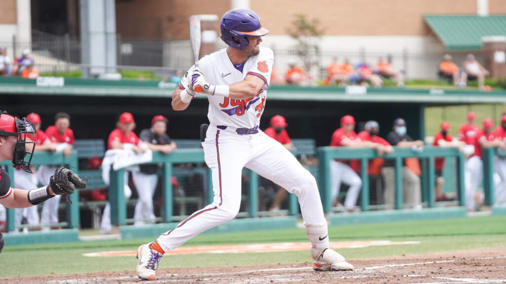 Clemson Sweeps No. 4 Louisville With 15-5 Win