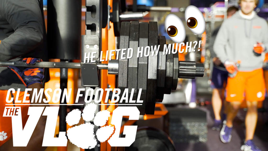 """He lifted how much?!"" (Clemson Football: The Vlog, S6E8)"