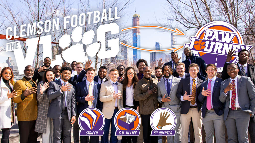 Clemson Football: The Vlog – The P.A.W. Journey Episode (S6, E9)