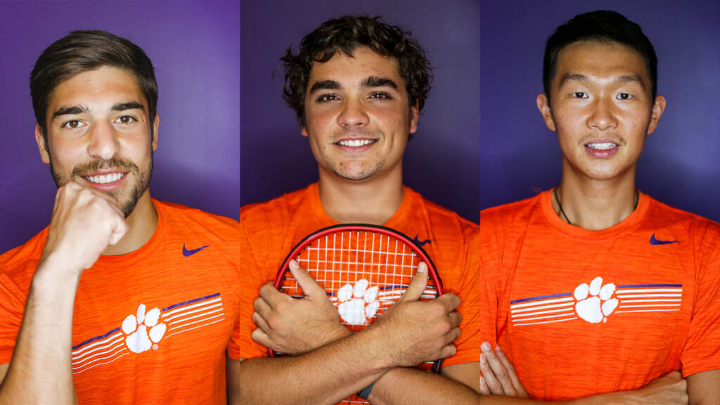 Tigers Tie Program Record With Three All-ACC Academic Selections