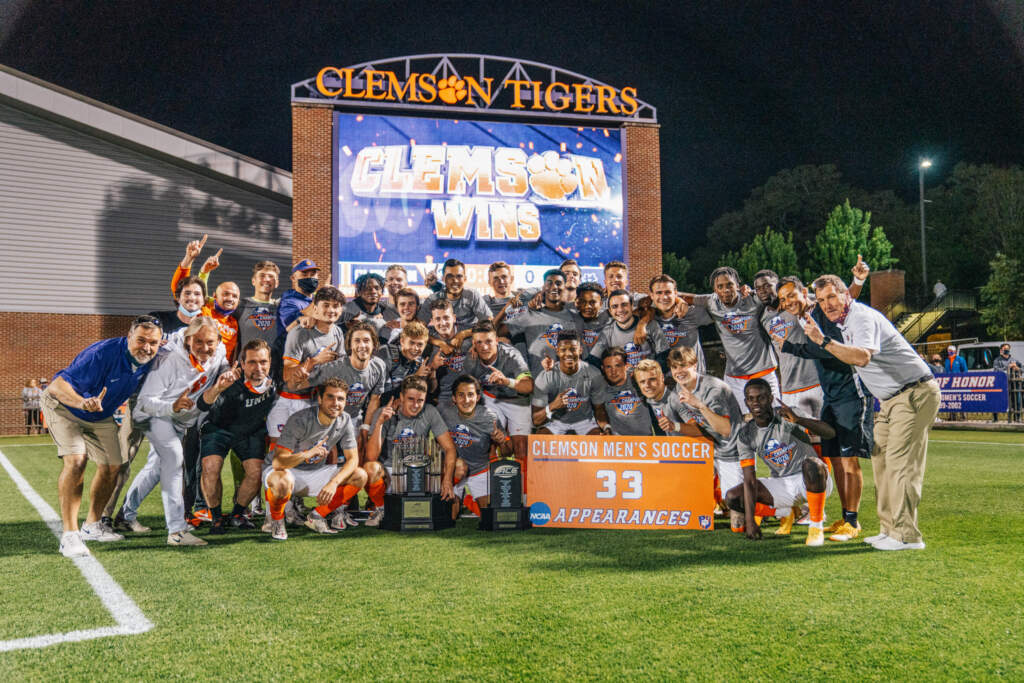 Seven Tigers Named to All-ACC Academic Men's Soccer Team