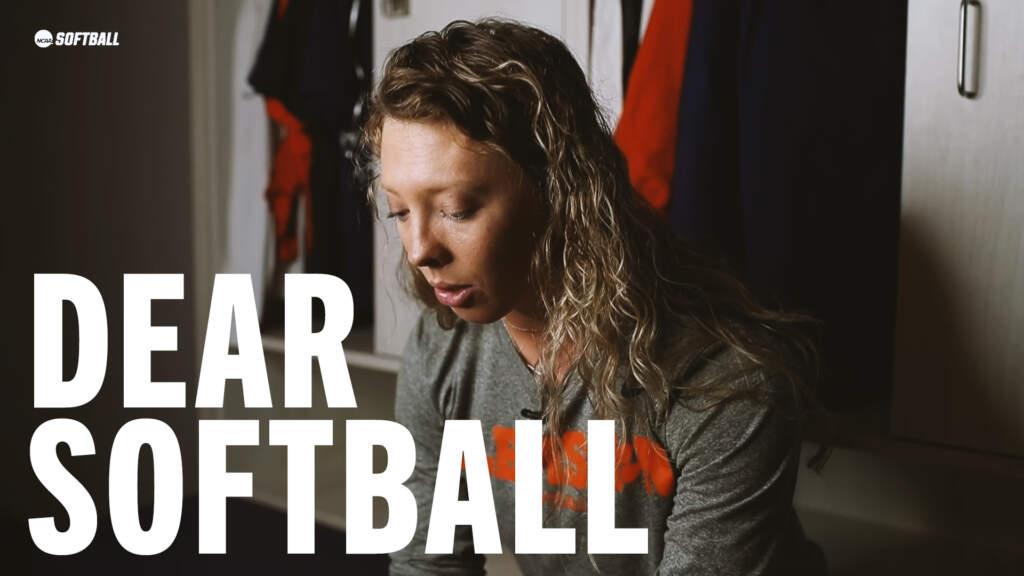 Dear Softball – Ansley Gilstrap