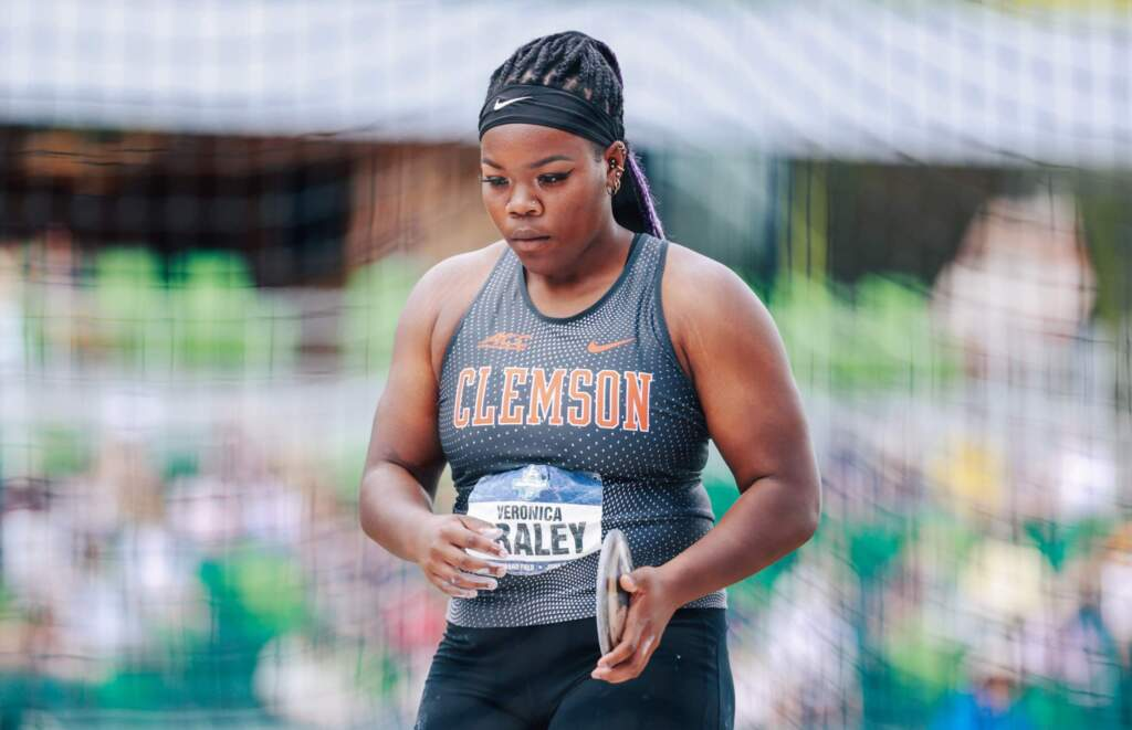 Fraley Sets School Record, Four Tigers Compete Friday at U.S. Olympic Trials