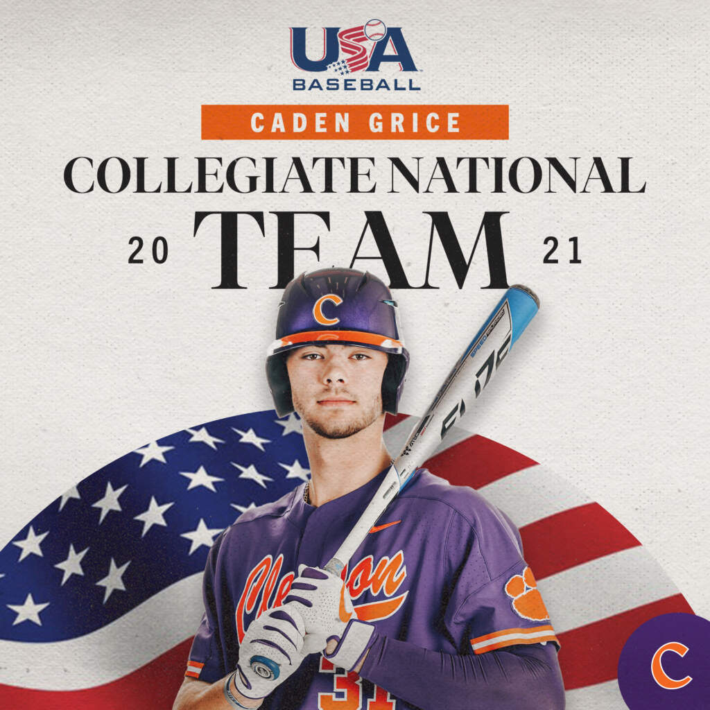 Grice To Play For USA Collegiate National Team