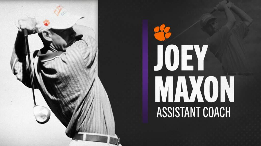 Maxon Named Clemson Assistant Men's Golf Coach