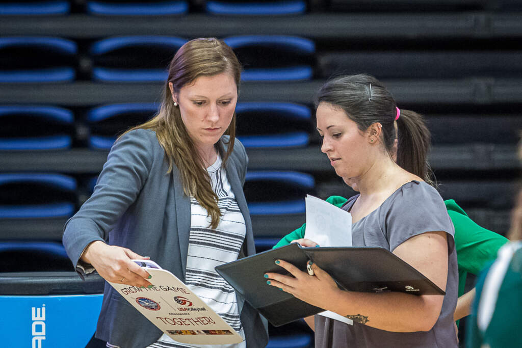 Unroe Named Volleyball Associate Head Coach