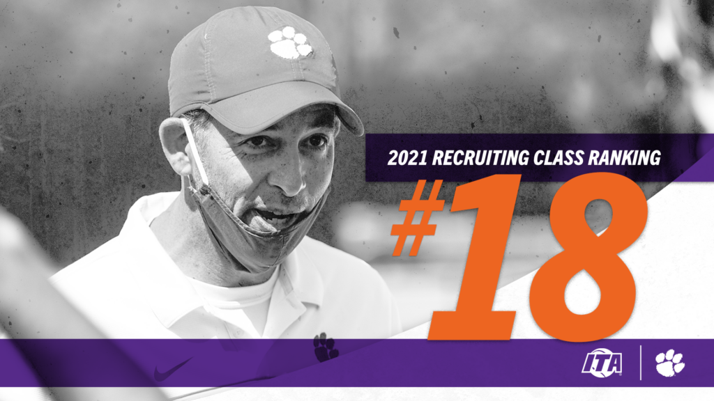 Men's Tennis 2021 Recruiting Class Ranked 18th Nationally