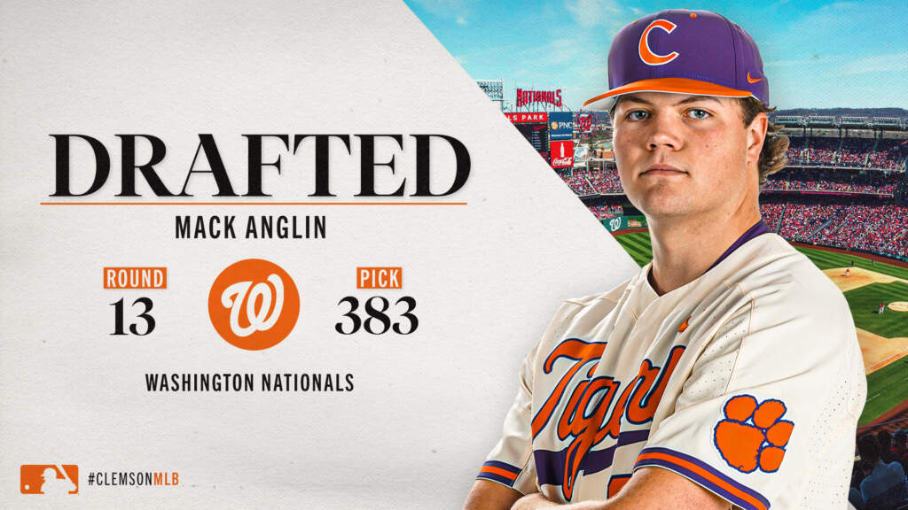 Four Tigers Selected in MLB Draft on Tuesday