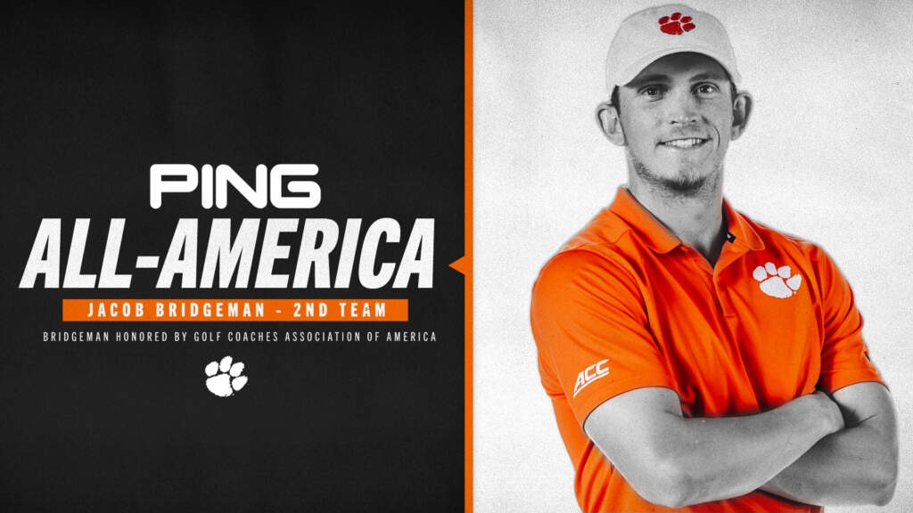 Bridgeman Earns All-American Recognition from Ping