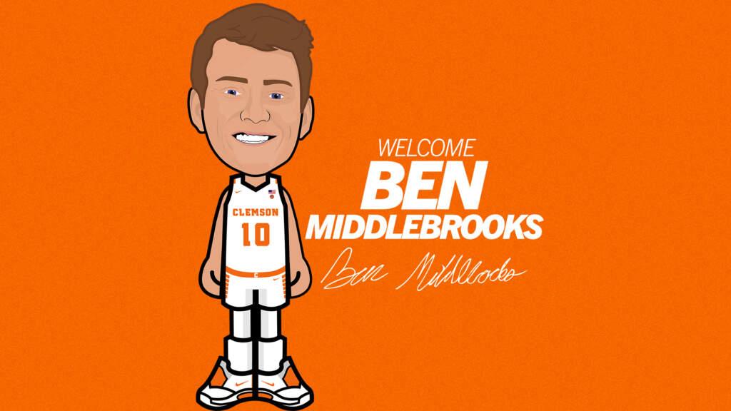 Clemson Basketball Signs Ben Middlebrooks