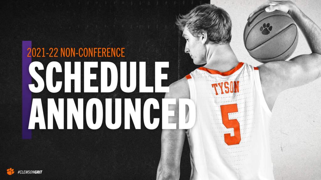 Men's Basketball Announces Non-League Schedule for 2021-22