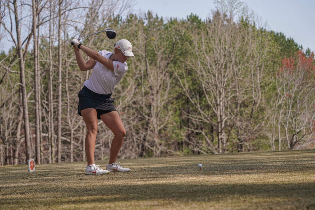 Tigers in 4th place After Day One at the Mason Rudolph Championship