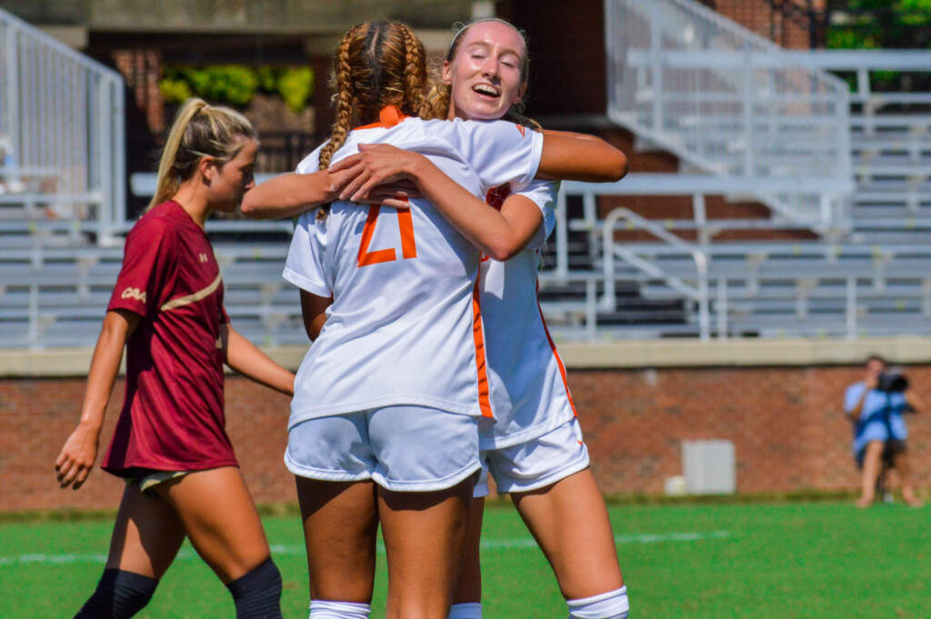 Guion Tallies Six Points in Tigers' 8-0 Win Over College of Charleston