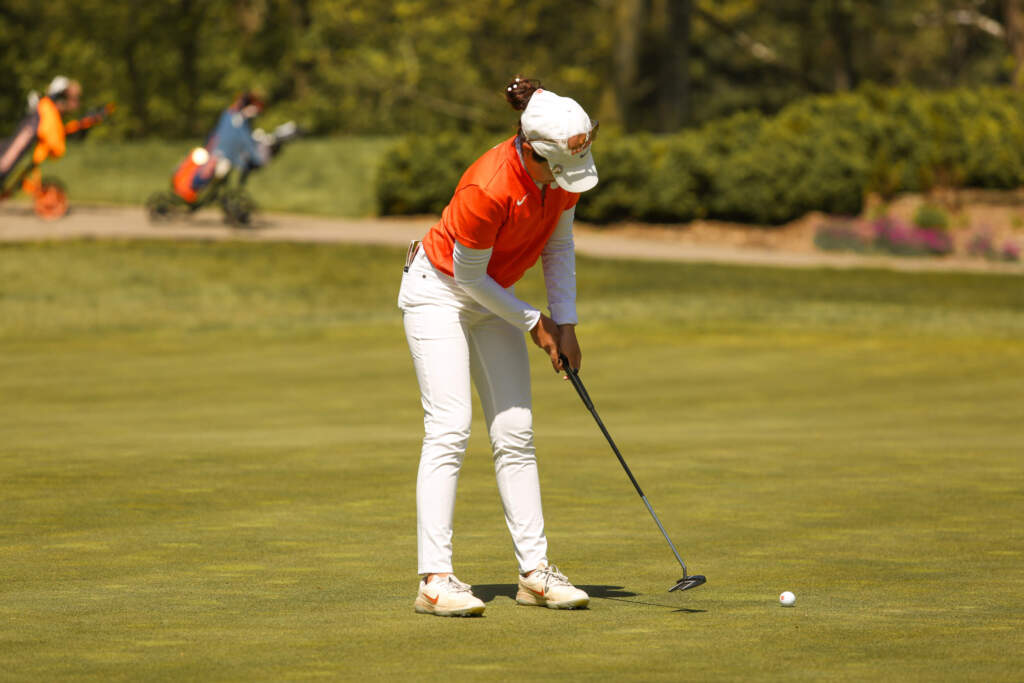 Tigers Tied for Eighth After Round Two at The Mason Rudolph Championship