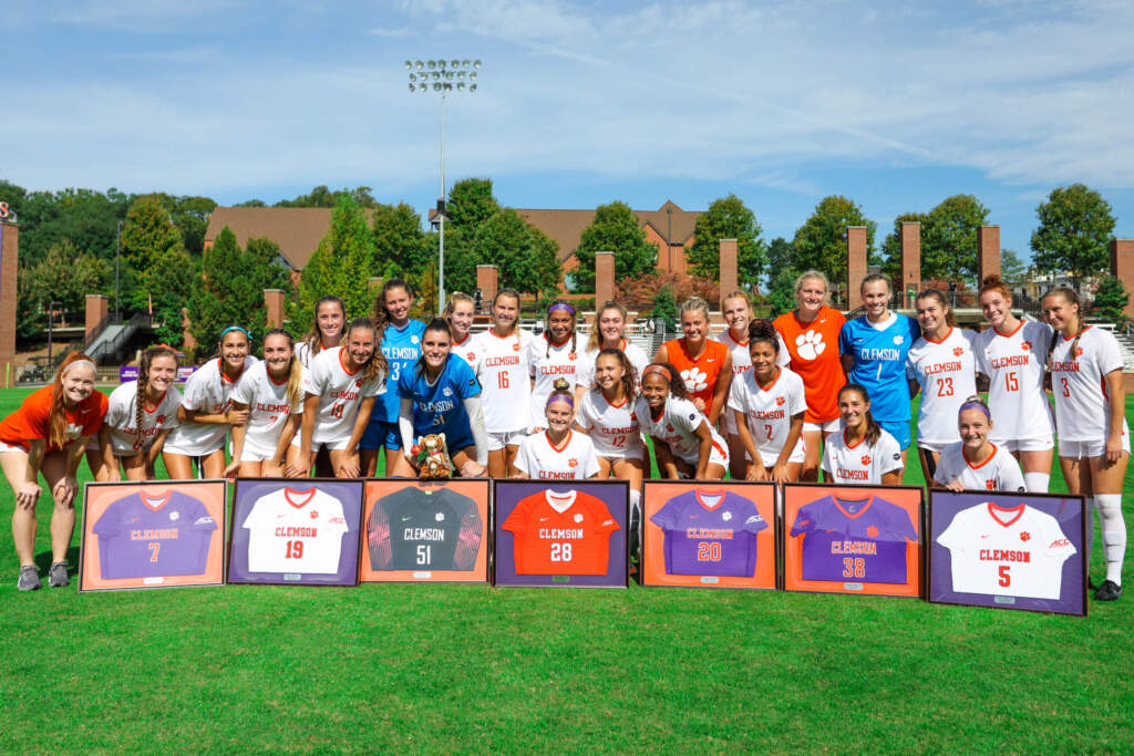 Clemson and Louisville Battle to 1-1 Draw on Senior Day