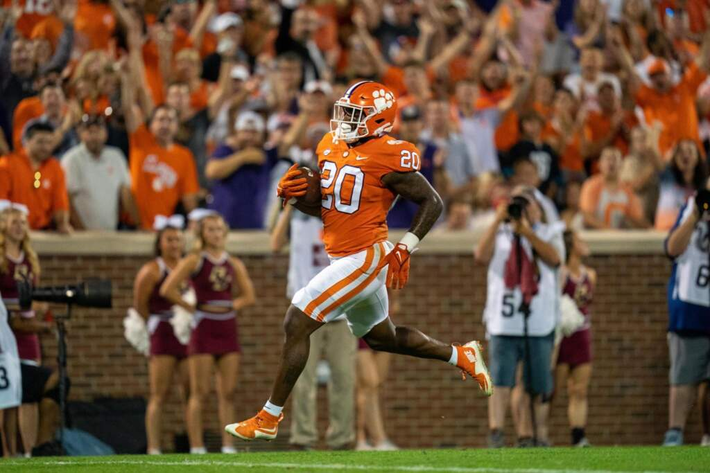Pace Named ACC Running Back of the Week