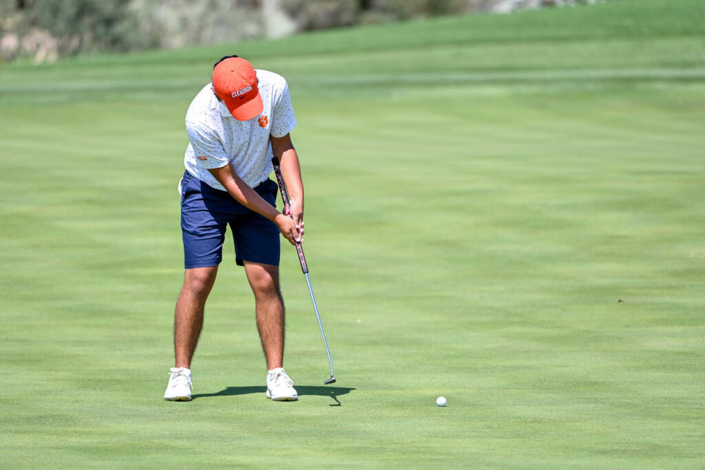 Rose Leads Tigers with Three-under 69 on Saturday at Golf Club of Georgia