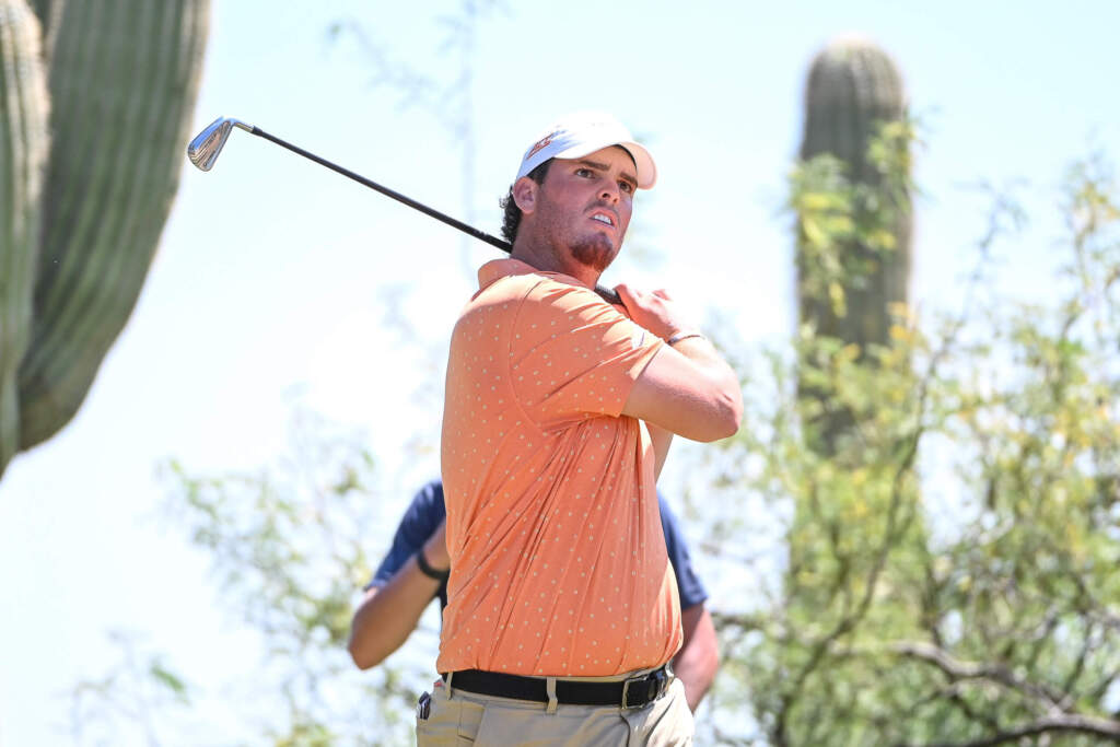Gordon Leads Tigers with Opening Round 68